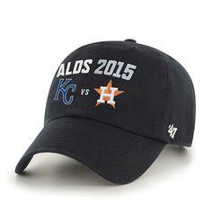 Kansas City Royals Houston Astros 47 Brand 2015 Postseason ALDS Adjust – Sporting Up. 😜