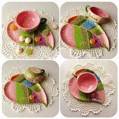 "Instagram media by pankovskaya_irina - Именная пара для кофе """"Весна"" #ceramics #pankovskaya #керамика #работаназаказ"