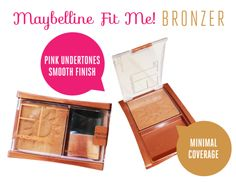 Maybelline Fit Me! Bronzer #beautyreview