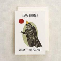 Chewbacca birthday card chewbacca birthdays and etsy darth vador birthday card bookmarktalkfo Choice Image