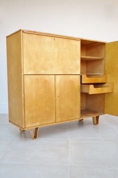 Cees Braakman birch series cabinet, sideboard, highboard