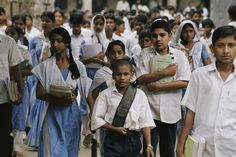School lets out   by World Bank Photo Collection