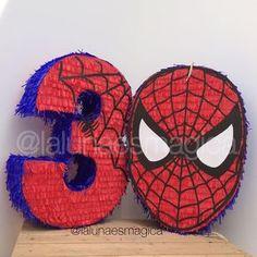 Piñatas Spiderman #piñatas #pinatas #piñata #pinata #spiderman #hombrearaña #piñatadenumero ...