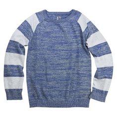 Boys' Striped Pullover Sweater  sz 6-7