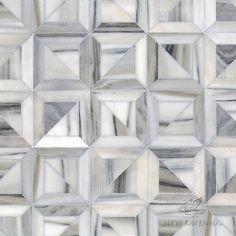 Newman A Hand Cut Stone Mosaic Shown In Horizon Honed Is Part