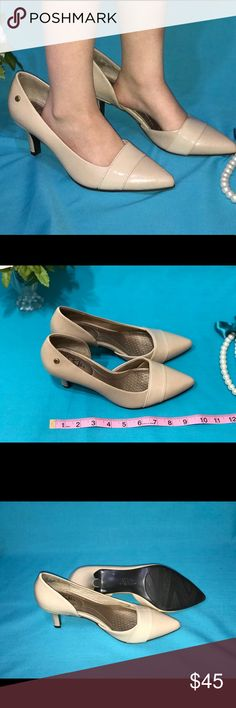 Life Stride Nude Pumps (NWOT) These shoes are so comfortable! They have a cushioned sole heel. Very nice shoes to wear at work or on a date. Life Stride Shoes Heels