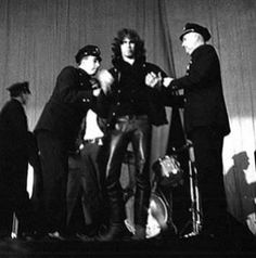 Today in 1967, Jim Morrison is arrested at a concert in New Haven, Connecticut, after taunting police from the stage