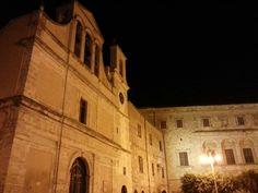 Plaza Umberto I Aragona italy
