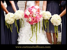 © Corinna Hoffman Photography - www.corinnahoffman.com - Jacksonville, FL - Jacksonville, FL Wedding Photographer - Bride & Bridesmaids - Bouquets