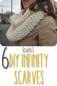 6 Cute DIY Infinity Scarves
