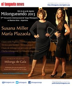 ★ MILONGUEANDO ★ 7º Encuentro Internacional de Tango Milonguero en Buenos Aires - Argentina