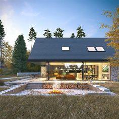 Projekt domu Odważny 1 158 m2 - koszt budowy - EXTRADOM