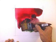 Watercolor Tissue Paper Texture Tutorial