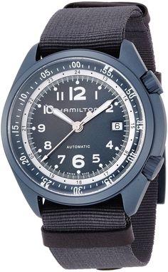 New Hamilton Khaki Pilot Pioneer Blue Aluminium Men's Watch H80495845