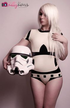 Star Wars Stormtrooper Inspired Rubber Latex by ShhhCoutureLatex