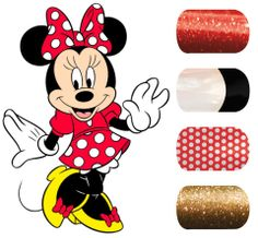 DIY Disney Nail Art (Jamberry nail wraps)  www.ashleymcharper.jamberrynails.net