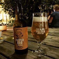 Pieper Bier. Van geredde aardappels #held #redderinnood #instock #czaarpeterstraat #piepers #krieltje
