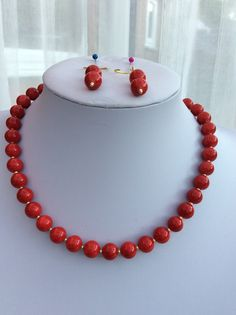 Red Quartzite necklace