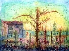 Gross Arnold (1929-2015) grafikája Nyugodjék békében! Illustration Art, Illustrations, Budapest, November, Painting, Inspiration, November Born, Biblical Inspiration, Illustration