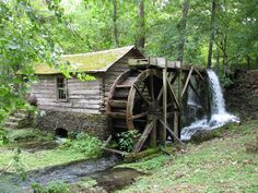 Old mill in Spring, Missouri - I've never been hear but it's such a lovely place. I love it!