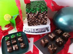 Minecraft is a game where you can explore, create, discover, mine and craft a whole world. In the game it takes patience to build anything, this cake is the same it takes 1,280 tiny fondant squares to make this 3D minecraft logo. minecraft cake instructions To start with you will need to make a cake you can use a packet mix or if you'd prefer homemade like I do then try either the vanilla cake