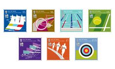 Just arrived for my stamp collection, the new stamps designed by Paul Smith to commemorate the 2012 Olympic and Paralympic Games. A collaboration with the Isle of Man Post Office, they come in a si… Dot Org, Commemorative Stamps, Tennis, Sir Paul, Pretty Designs, Pictogram, Stamp Collecting, Chicago Cubs Logo, Paul Smith