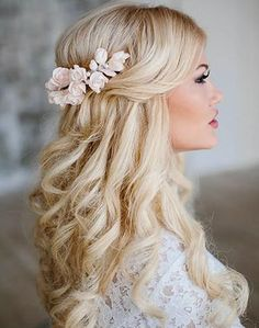 Romantic wedding hair ideas you will love (69)