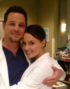 Greys Anatomy~Alex and Jo <3