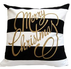 black white and gold christmas
