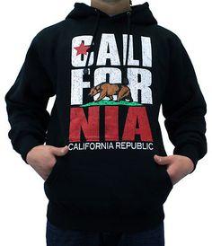 California Republic Design Hooded Sweatshirt(Free CottonAge T-Shirt) California Flag, California Republic, California Fashion, Grey Sweatshirt, Graphic Sweatshirt, T Shirt, School Outfits, Outfits For Teens, Teen Fashion