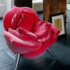 Who doesn't need a rose seat?