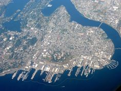 Believe it has more waterfront than any other county in the U.S. Kitsap County/Bremerton, WA