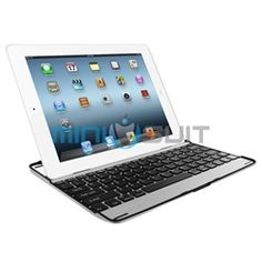 Going through keyboard withdrawal? Snap out it, with MiniSuit's Portable Aluminum Keyboard