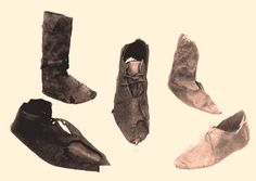 During the Middle Ages good shoes were extremely expensive, so country people used to wear bad quality shoes during winter and used to walk bare-foot during summer.