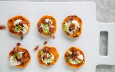 Sweet Potato Bacon Bites!