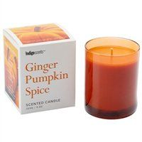 Poured Glass Candle- Ginger Pumpkin Spice: Not getting sick of pumpkin yet! Pumpkin Spice Candle, Pumpkin Candles, Candles And Candleholders, Fall Candles, 3 Wick Candles, Scented Candles, Glass Vessel, Glass Candle, Candle Jars