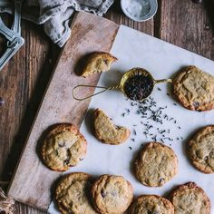 Earl Grey Chocolate Chip Cookies. Get this and 40+ and more Earl Grey #recipes at https://feedfeed.info/earlgrey?img=380770 #feedfeed