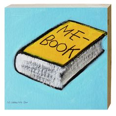 Cuadro Me Book. Medidas: 20 x 20 cm. Artista: The Catman.
