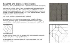 This is the Crease Pattern (CP) and basic folding instructions for my Squares…