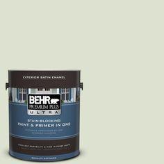 BEHR Premium Plus Ultra 1-gal. #M380-1 Cavan Satin Enamel Exterior Paint