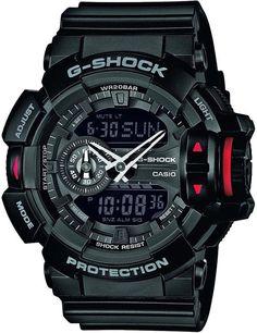 Casio G-Shock Black Shock Resistant Alarm Chronograph Watch GA-400-1BER RRP £80 in Jewellery & Watches, Watches, Wristwatches | eBay