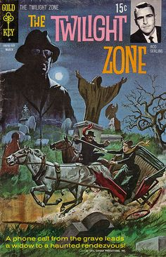 The Twilight Zone Comic #36 Publisher: Gold Key Comics Date: March 1971