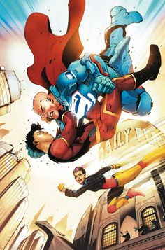 NEW SUPER-MAN #9 Written by GENE LUEN YANG Art and cover by VIKTOR BOGDANOVIC Variant cover by BERNARD CHANG