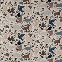 Tiki Tiki Desert by Andrew Martin - Fabric - HACITTDE Tiki Tiki, Fabric Samples, Deserts, Colours, Make It Yourself, Quilts, Living Room, Bedroom, Home Decor