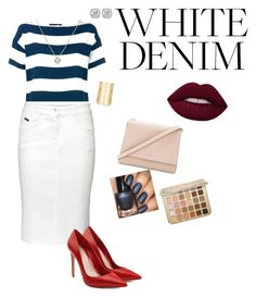 """""""Untitled #19"""" by gaynetdinowa ❤ liked on Polyvore featuring Dolce&Gabbana, Basler, Kate Spade, Alexander McQueen, Frederic Sage and Jules Smith"""