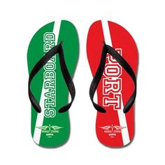 58c778d07 Starboard Port Flip Flops. CafePress.com. Rowing GiftsRow Row Your BoatWomens  ...