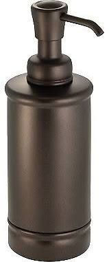 InterDesign York Metal Soap Dispenser & Lotion Pump, for Kitchen or Bathroom Countertops - Bronze/Bronze Vanity Countertop, Bathroom Countertops, Soap Pump, Bathroom Accessories Sets, Pumps, Soap Dispenser, Box, Lotion, Liquid Soap