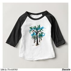 Shop for the best baby girl tops & t-shirts right here on Zazzle. Upgrade your child's wardrobe with our stylish baby shirts. Baby Boy Shirts, Shirts For Girls, Grumpy Baby, 1st Birthday Shirts, Birthday Gifts, Birthday Ideas, Happy Birthday, Baby Yoga, Raglan Shirts
