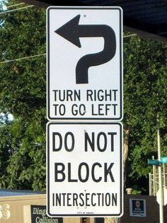 Just keep turning, just keep turning #sillysigns