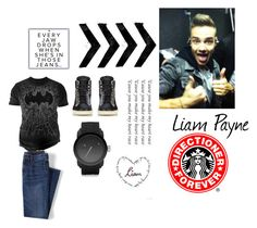 """""""Liam Payne"""" by vmathur ❤ liked on Polyvore featuring Changes, Lands' End, Yves Saint Laurent, Diesel, Payne, men's fashion and menswear"""